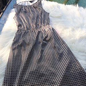 EUC The Limited multicolored sleeveless dress XS